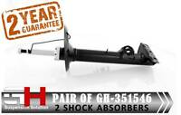 2 FRONT SHOCK ABSORBERS FOR BMW SERIES 3 (E36) 1992-19999/GH-351546P