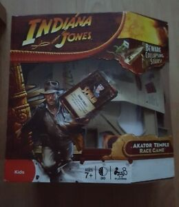 INDIANA JONES AKATOR TEMPLE RACE GAME 100% COMPLETE