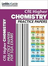 Leckie CfE Higher Chemistry Practice Papers for SQA Exams BRAND NEW (P/B 2015)