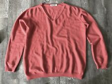 Jil Sander Kashmir Pullover rot Gr. 40/M    NP 980€