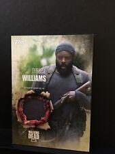 The Walking Dead Season 5 Tyreese Williams  Authentic Shirt Relic Card Wardrobe