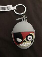 """MARVEL Deadpool Collectors Keyring Series 3! -HEADPOOL Keychain 3"""" NEW!"""