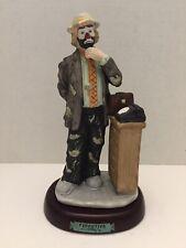Emmett Kelly Jr. The Executive Hobo Clown Figurine Flambro