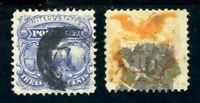 USAstamps Used FVF US 1869 Eagle & Shield Pictorial Scott 114, 116