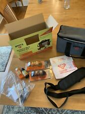 Hoppes Gun Cleaning Kit With Champion Range And Target Accessories And Bag.