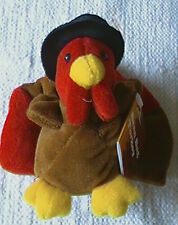 TURKEY Bean Bag Pellet filled by GIBSON GREETING CARDS Mr Gobbles vintage toy