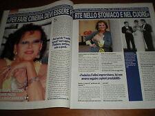 Vero.CLAUDIA CARDINALE,GABRIELE MUCCINO & ANGELICA RUSSO,LAURA FIUME,bbb