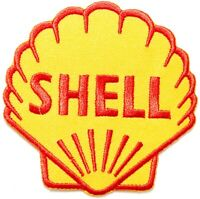 Shell Vintage Motor Oil Gasoline Racing Garage Patch Iron on Decal T shirt Cap