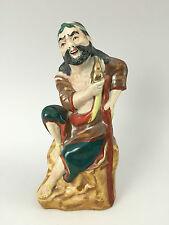 Antique CHINESE BISCUIT PORCELAIN FIGURINE STATUE - Signed - JINGDEZHEN