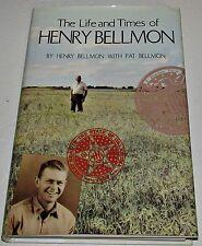 Signed Autobiography ~ Life & Times of Henry Bellmon ~ Oklahoma Governor Senator
