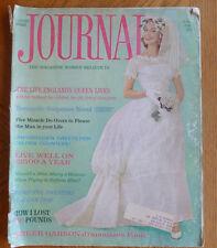 Ladies Home Journal Greer Garson Wedding Dress Queen Elizabeth II June 1961