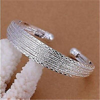 HOT  Wholesale New Fashion gifts Jewellery Solid925 Silver Bracelet/bangle
