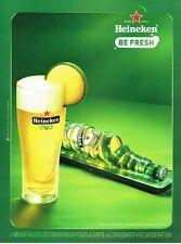 PUBLICITE ADVERTISING 027  2010  bière Heineken  Be fresh