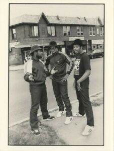 Run-D.M.C. Hip Hop Hollis Queens New York Rare Vintage Stamped 6x8 Press Photo