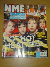 NME 2003 APR 19 FIRE IN THE DISCO COLDPLAY YEAH YEAHS