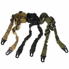 Adjustable Nylon 2 Dual Two Point Tactical Rifle Sling System Hunting Gun Strap