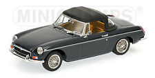 MINICHAMPS 430 131044 MGB ROADSTER 1968 CAR LTD EDITION BASILICA BLUE 1:43