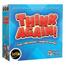 Think Again Mini Party Game Games Iello Games IEL 00031 Micro Family