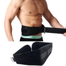 Pro Weight Lifting Belt Back/Lumbar Support Gym Power Training Dead Lift