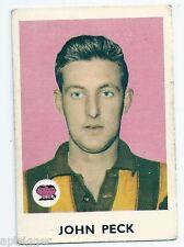 1965 Scanlens (14) John PECK Hawthorn ****