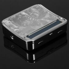 Metal Automatic Cigarette Tobacco Roller Rolling Machine Case Storage Box BF8Y