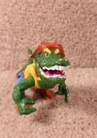 1989 Playmates TMNT Teenage Mutant Ninja Turtles Leatherhead Action Figure B