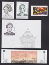 Belgique 2000 Cob# 2878/84 NON DENTELES Imperforate MNH - Cat Val 180€....A4411