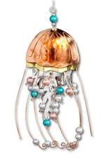 Deep Sea Jellyfish Ocean Sea Ornament Metal Fair Trade Pilgrim Imports New