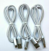 3X Micro USB Charger Fast Charging Cable Cord For Android Tablet Cell Phone