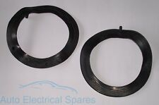 """7"""" Headlight Headlamp to Bowl to Body Seal Rubber Gasket x 2 for MG MGB TRIUMPH"""