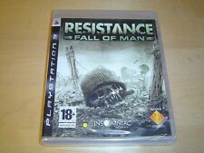 RESISTANCE FALL OF MAN PLAYSTATION 3 PS3 UK PAL ORIGINAL RELEASE *BRAND NEW*
