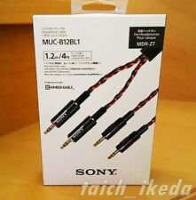 SONY Headphone cable 1.2 m MUC-B12BL1 for MDR-Z7 Express shipping from Japan EMS
