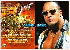 WWF WRESTLING FEDERATION 2000 THE ROCK SUPERSTAR & ACTOR RARE SAMPLE PROMO #P1