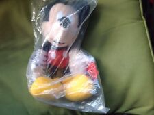 "mickey mouse 16"" classic plush by applause 33830 rare new and sealed in bag"
