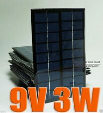 9V 3W Mini poly solar Panel small solar cell PV module science high-tech NEW