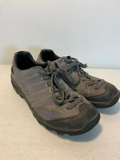 GOLITE Scram Lite Men's Hiking Walking Running Shoes Gray& Black Leather Sz 8.5