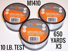 South Bend M1410 Monofilament Line 10 lb. Test 650 Yards Qty. 3 Free Shipping