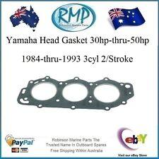 A Brand New Yamaha Head Gasket 30hp-thru-50hp 1984-1993 3cyl # R 6H4-11181-00