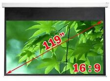 Antra™ PSA-119AG 16:9 Electric Motorized Projector Projection Screen Remote Matt
