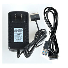 USB Data Sync Cable + AC Charger for Asus Eee Pad Transformer SL101 TF700 TF301