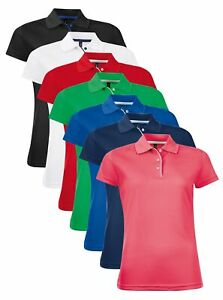 SOLS Ladies Womens Performance Polyester Contrast Piqué Polo Shirt