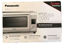 NEW Panasonic High Speed Toaster Oven with Convection NB-W250s 1750 Watts 0.9 Cu