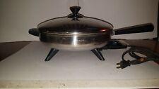 """Vintage Farberware Skillet 310-A 12"""" Electric Fry Frying Pan Lid"""