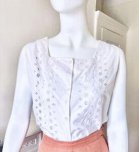 Original Vintage 1950s Cotton Blouse