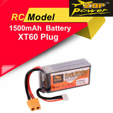 ZOP Power Lipo Battery 11.1V 1500mAh 100C 3S XT60 Plug For RC Racing Drone