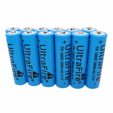 12 X 18650 3.7V 3800mAh Li-ion Rechargeable Battery for Flashlight