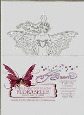 Amy Brown Florabelle Fairy Mermaid Paper Doll Kit Set Faery
