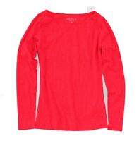J.Crew Mercantile Women's S - NWT Electric Red Long Sleeve Boat Neck Artist Tee