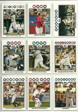 2008 Topps Lot/935 Baseball Cards Votto Longoria Fukudome RC's Mantle Griffey