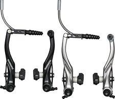 Shimano BR-T4000 V-Brake Bremse Schwarz oder Silber Shimano Felgenbremse 1 stück